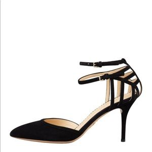 Charlotte Olympia Arsenal D'Orsay pumps